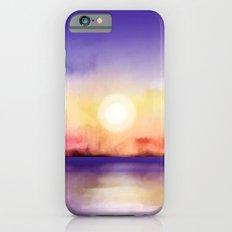 Watercolor Sunset Slim Case iPhone 6s
