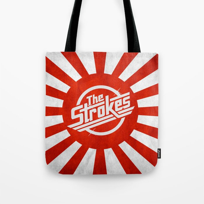 The Strokes Logo Welcome To Japan Tote Bag
