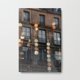 Paris the Marais © Vincent Brun Hannay Metal Print