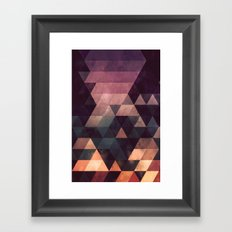 ryyt yss Framed Art Print