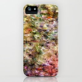 Soothing Heather iPhone Case
