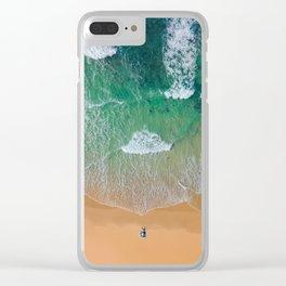 Drone Beach Clear iPhone Case