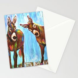 Donkeys Stationery Cards