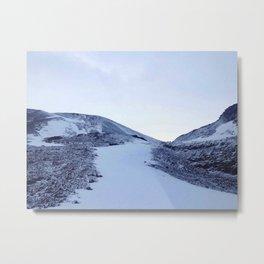 Ice land Metal Print