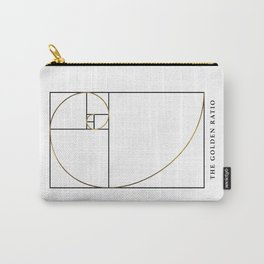 The Golden Ratio Spiral Carry-All Pouch