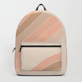 Soft Light Corner Bow Backpack