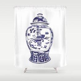 GINGER JAR No.2 Shower Curtain