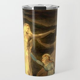 """William Blake """"The Parable of the Wise and Foolish Virgins"""" Travel Mug"""