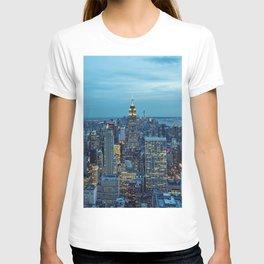 NYC Skyline a Night T-shirt