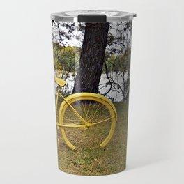 Yellow Bikes Travel Mug