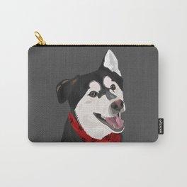 Floki the Husky Shepherd Lab Carry-All Pouch