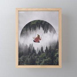 Peace in mind Framed Mini Art Print
