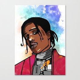 Pretty Boy Flacko II Canvas Print