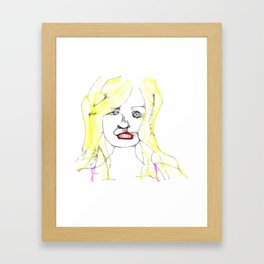 The Girl  Framed Art Print