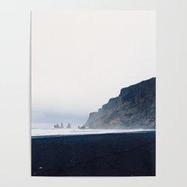 Vik Black Sand Beach, Iceland Poster