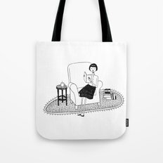 I'll get by as long as I have books Tote Bag