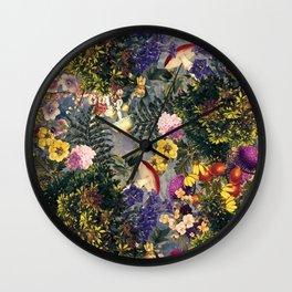 Tropical Garden XIII Wall Clock