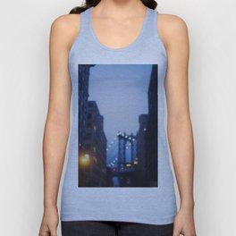 Manhattan Bridge at Night II Unisex Tank Top