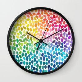 rain 11 Wall Clock