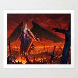 Power of the Divines Art Print