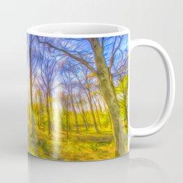 Warm Forest Art Coffee Mug