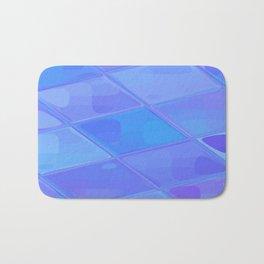 Re-Created Mirrored SQ LXXVII by Robert S. Lee Bath Mat