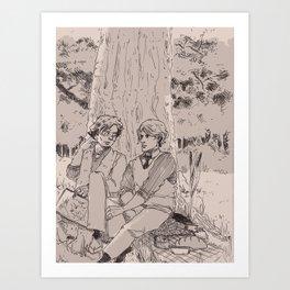 brideshead revisited e/r style Art Print