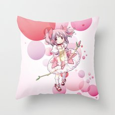 Madoka Kaname Throw Pillow