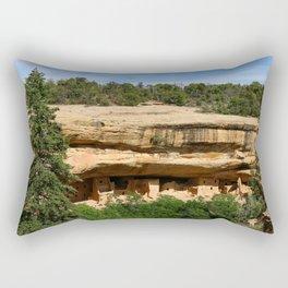 An Ancient Settlement Rectangular Pillow
