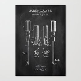 Screw Driver Canvas Print