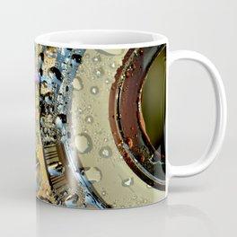 Water Drops on a Disc Coffee Mug