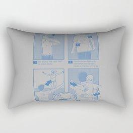 The Hug Tee Rectangular Pillow