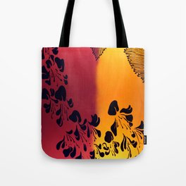 The Flower of our Discontent Tote Bag