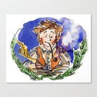 hobbit Canvas Prints featuring Hobbit by Kris-Tea Books