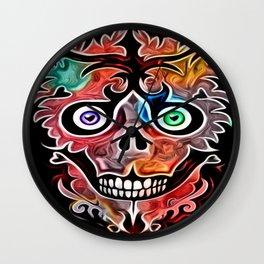 Sheldon Skully Wall Clock