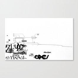 Detroit series 1 Canvas Print