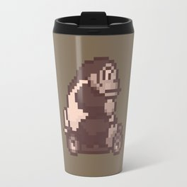 Pixelated Super Mario Kart - Donkey Kong Travel Mug