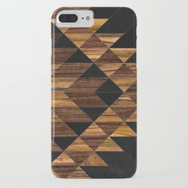 Urban Tribal Pattern No.11 - Aztec - Wood iPhone Case
