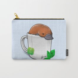 Pla-TEA-pus Carry-All Pouch
