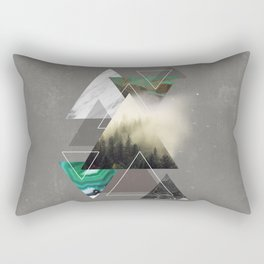 Triangles Symphony Rectangular Pillow