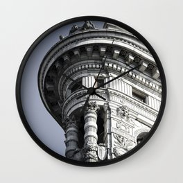 Top of the Iron Wall Clock