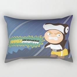 The Great Hammerheadman Rectangular Pillow
