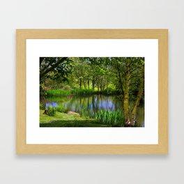 Spring views Framed Art Print