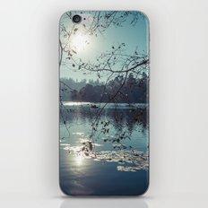 India - Blue lake iPhone & iPod Skin