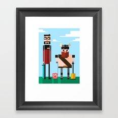 yogscast Framed Art Print