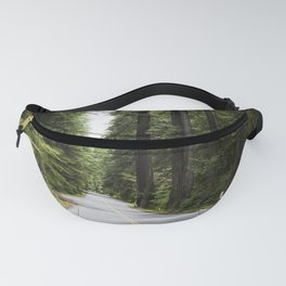 The Redwood National and State Parks (RNSP) are located in the United States along the coast of nort Fanny Pack