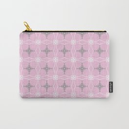 Duchess pink and grey Carry-All Pouch