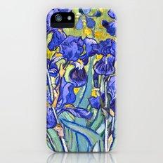 Vincent Van Gogh Irises iPhone SE Slim Case