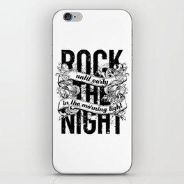 Rock The Night iPhone Skin