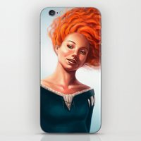 merida iPhone & iPod Skins featuring Merida by Strannaya Anna